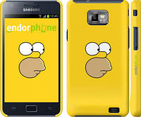 "Чехол на Samsung Galaxy S2 i9100 Симпсоны. Гомер ""199c-14"""