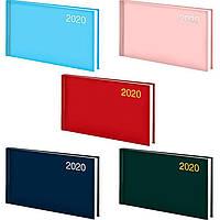 Еженедельник  2020 Brunnen 9*15,5см карманный Miradur trend 73-755 64_Голубой