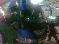 Ремонт лобового стекла на грузовых автомобилях  в Донецке