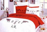 Комплект постельного белья Le Vele сатин Devil & Angel