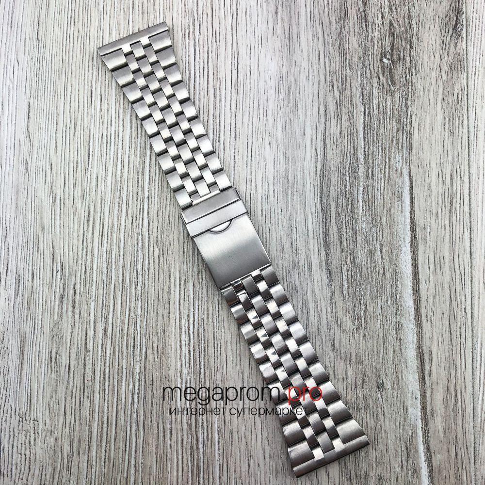 Браслет для годинника універсальний срібло 30 мм (08289)