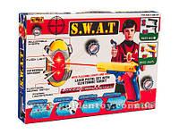 Пейнтбол лазерный, 2 пистолета, 2 щита, в кор.30х4х21см