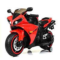 Детский двухколесный мотоцикл-электромобиль Yamaha M 4069L-3 красный