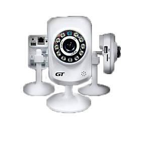"IP видеокамера GT 700-10. 1Мп, 1/4"" CMOS, 0,1 Лк, F=3,6мм, ИК=10м"