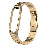 Браслет Bead Design Bracelet — Xiaomi Mi Band 3 — Gold