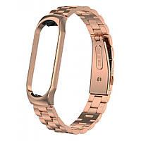 Браслет Bead Design Bracelet — Xiaomi Mi Band 3 — Pink