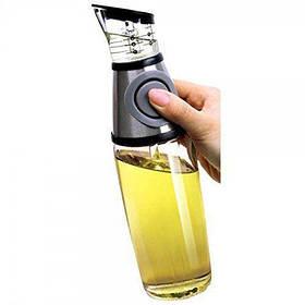 Бутылка для масла HLV R16386-1 стекло с мерной чашечкой 500мл