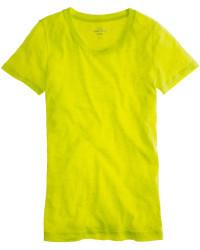 Неоновая футболка J.Crew