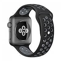Браслет Nike Design Bracelet — Apple watch 38 ; Apple Watch 40 mm — Black & Gray