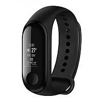 Смарт часы Фитнес браслет Xiaomi Mi Band 3 NFC Version — Black
