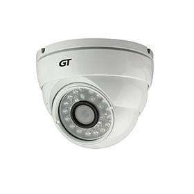 "IP видеокамера GT 101-10. 1Мп, 1/4"" CMOS, 0,1 Лк, F=3,6мм, ИК=20м"