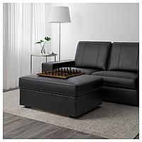 IKEA KIVIK Подставка для ног, Grann, Бомстад черный (301.985.99)
