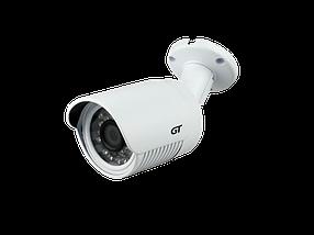 "IP видеокамера GT 203-10. 1Мп, 1/4"" CMOS, 0,1 Лк, F=3,6мм, ИК=20м"