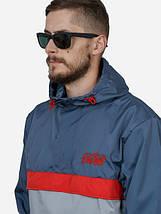 Мужской анорак, Urban Planet, спортивная куртка, куртка для туризма, ветровка, штормовка, для альпинизма, фото 3