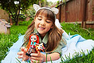КуколкаEnchantimalsТэнзи Тайгер и ее питомецтигренок Тафт Tanzie, фото 6