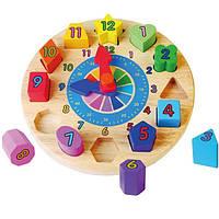 """Пазл Viga Toys """"Часы"""" (59235VG)"""