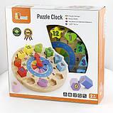"""Пазл Viga Toys """"Часы"""" (59235VG), фото 2"""