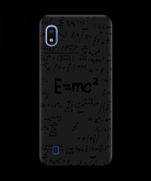 Чехол для телефона Zorrov на  Samsung Galaxy A10 Black Einstein Black Matte