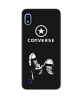 Чехол для телефона Zorrov на  Samsung Galaxy A10 Converse Black Matte