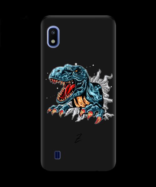 Чехол для телефона Zorrov на  Samsung Galaxy A10 Rex Black Matte
