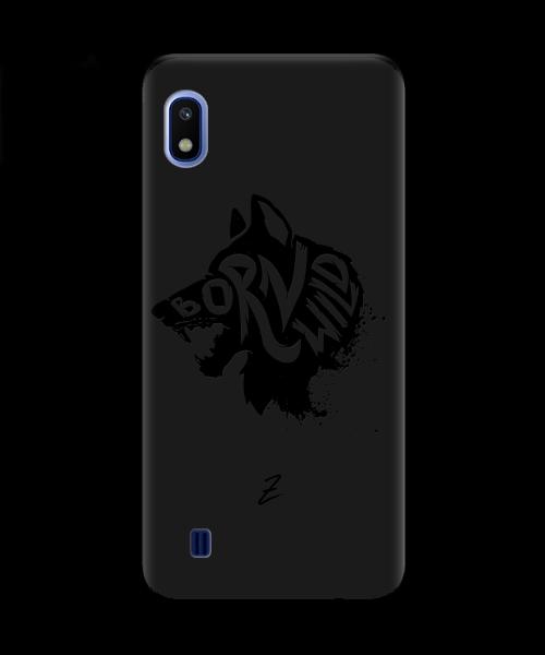 Чехол для телефона Zorrov на  Samsung Galaxy A10 Born Wild Black Matte