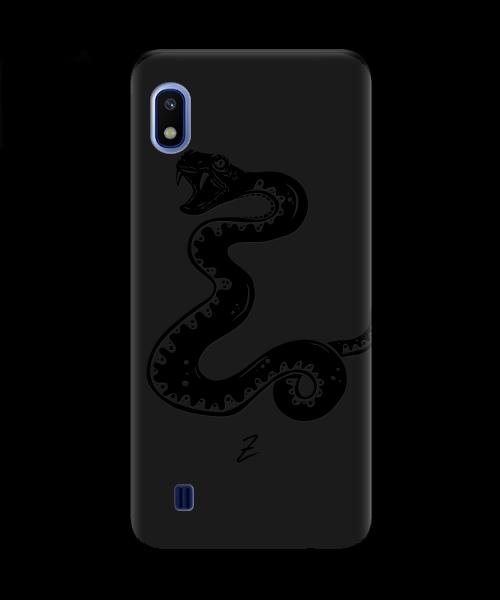 Чехол для телефона Zorrov на  Samsung Galaxy A10 Сobra Black Matte