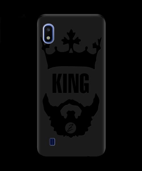 Чехол для телефона Zorrov на  Samsung Galaxy A10 King Black Matte