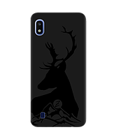 Чехол для телефона Zorrov на  Samsung Galaxy A10 Moral Black Matte