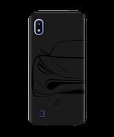 Чехол для телефона Zorrov на  Samsung Galaxy A10 Sport Car Black Matte