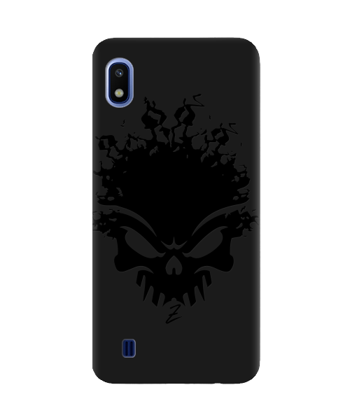 Чехол для телефона Zorrov на  Samsung Galaxy A10 Ugolek Black Matte