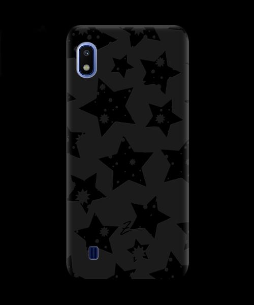 Чехол для телефона Zorrov на  Samsung Galaxy A10 Black Star Black Matte