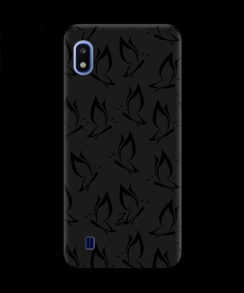 Чехол для телефона Zorrov на  Samsung Galaxy A10 Butterfly Black Matte