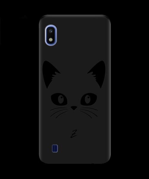 Чехол для телефона Zorrov на  Samsung Galaxy A10 Cat Black Black Matte