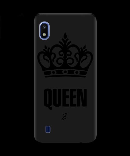 Чехол для телефона Zorrov на  Samsung Galaxy A10 Queen Black Matte