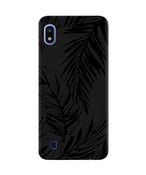 Чехол для телефона Zorrov на  Samsung Galaxy A10 Tropics Black Matte