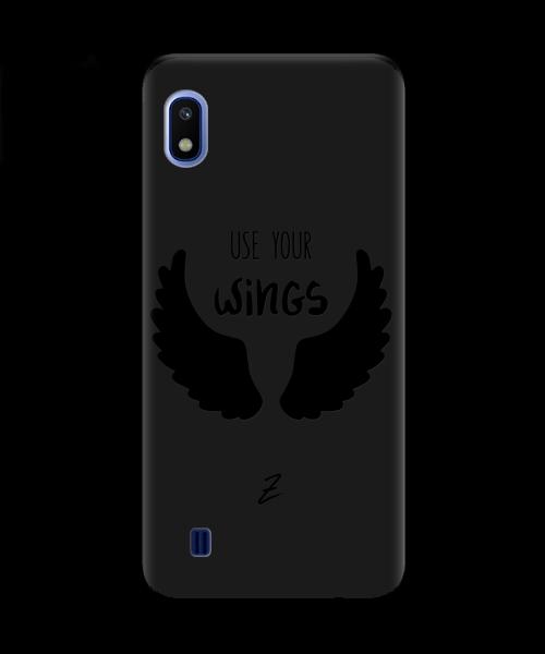 Чехол для телефона Zorrov на  Samsung Galaxy A10 Wings Black Matte