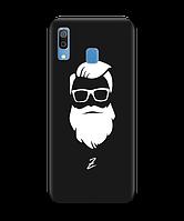 Чехол для телефона Zorrov на  Samsung Galaxy A20 Beard Black Matte