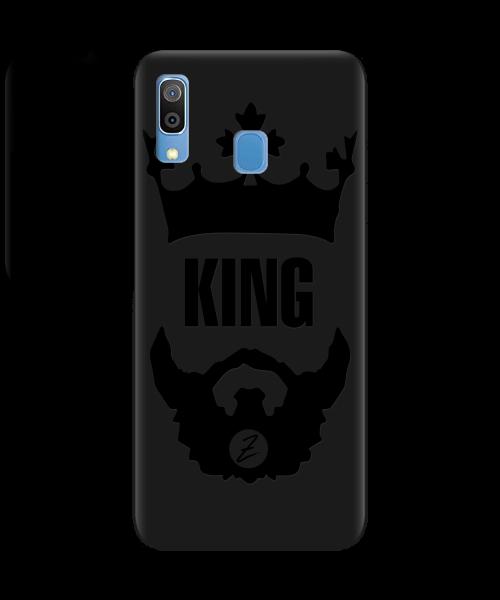 Чехол для телефона Zorrov на  Samsung Galaxy A20 King Black Matte