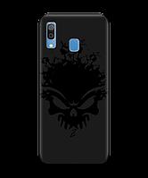 Чехол для телефона Zorrov на  Samsung Galaxy A20 Ugolek Black Matte