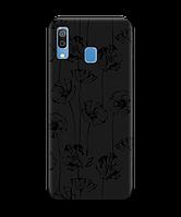 Чехол для телефона Zorrov на  Samsung Galaxy A20 Mallow Black Matte