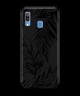 Чехол для телефона Zorrov на  Samsung Galaxy A20 Tropics Black Matte