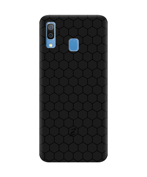 Чехол для телефона Zorrov на  Samsung Galaxy A30 Cell Black Matte
