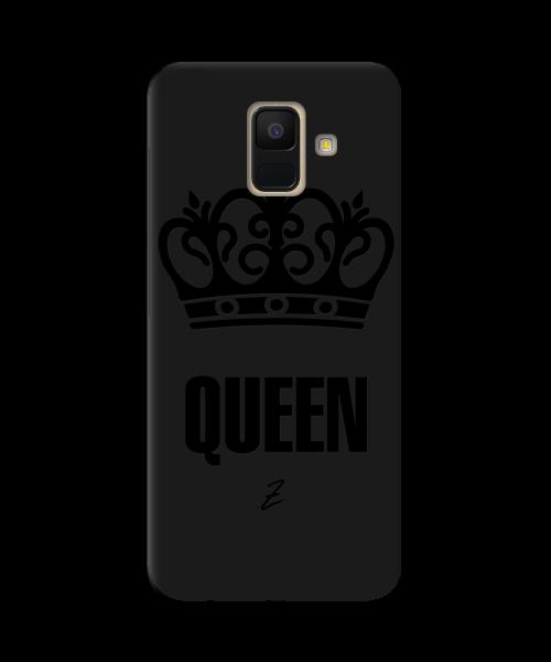 Чехол для телефона Zorrov на  Samsung Galaxy A6 2018 Queen Black Matte