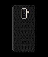 Чехол для телефона Zorrov на  Samsung Galaxy A6 Plus 2018 Cell Black Matte