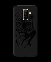 Чехол для телефона Zorrov на  Samsung Galaxy A6 Plus 2018 Tiger Black Matte