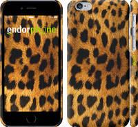 """Чехол на iPhone 6 Шкура леопарда """"238c-45"""""""