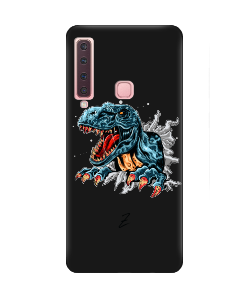 Чехол для телефона Zorrov на  Samsung Galaxy A9 2018 Rex Black Matte