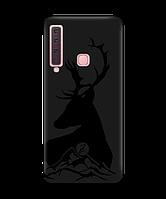 Чехол для телефона Zorrov на  Samsung Galaxy A9 2018 Moral Black Matte