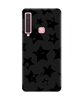 Чехол для телефона Zorrov на  Samsung Galaxy A9 2018 Black Star Black Matte