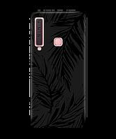 Чехол для телефона Zorrov на  Samsung Galaxy A9 2018 Tropics Black Matte